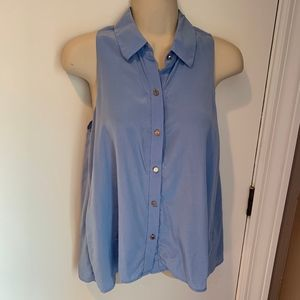 Juicy Couture silk button up blouse
